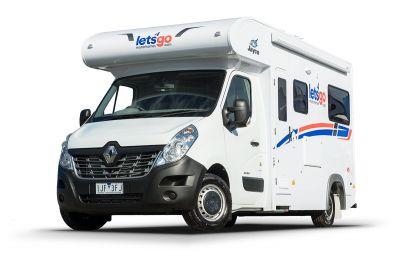 Let's Go Motorhomes 3 Berth Cruiser Camper Australien