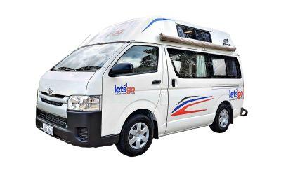 Let's Go Motorhomes 2 Bett Hitop Camper Australien
