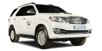 Toyota 4x4 Fortuner SUV von Britz Afrika