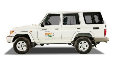 Toyota 4x4 Landcruiser SUV von Britz Afrika