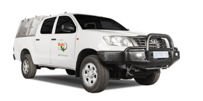 Toyota Double Cab 4x4 Hilux LDV von Britz Afrika