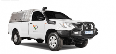 Toyota Single Cab 4x4 Hilux LDV von Britz Afrika