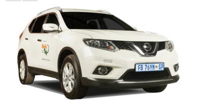 Nissan 4x4 X-Trail SUV von Britz Afrika