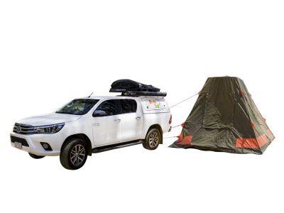 Britz Allrad/4WD Camper Outback Australien mit Zelt