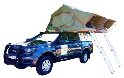 Britz Rentals 4 WD FDE Ford Double Cab 4 Bett Afrika