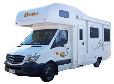 Frontier Camper von Britz Neuseeland