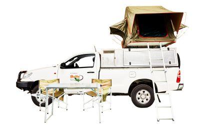 Britz Rantals 4WD SE Toyota Single Cab 2 Bett Afrika