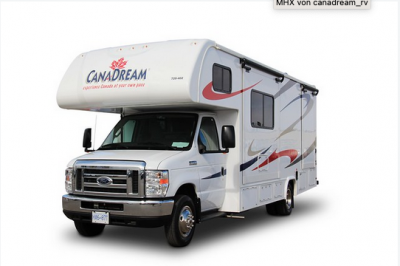 Canadream MH-B Motorhome Canada Frontansicht
