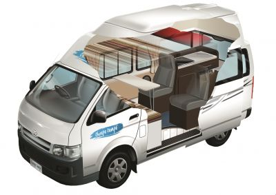 Neuseeland Cheapa Endeavour Camper