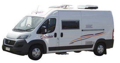 Kompaktcamper Sandpiper von Cruisin Motorhomes Australien