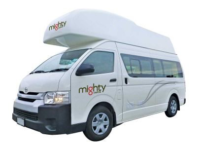 Mighty Camper Double Down Neuseeland freigestellt