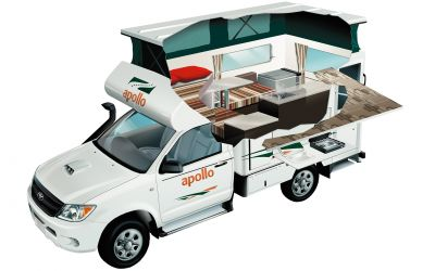 Apollo 4WD Adventure Camper Australien