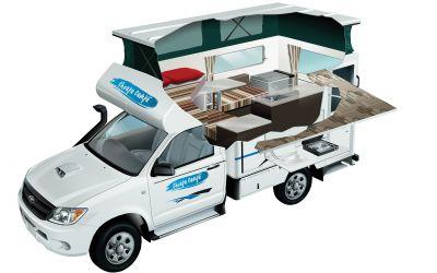 Australien Cheapa 4WD Camper