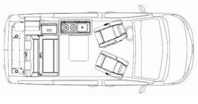 bestCamper Grundriss Urban Vehicle von Mc Rent