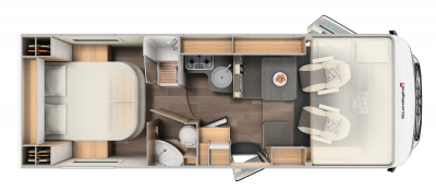 McRent Comfort Luxury Floorplan