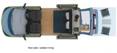 Spaceship Dreamsleeper Mini Camper Neuseeland