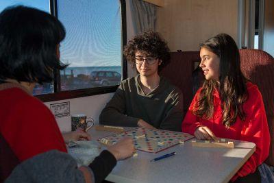 Spielspass im Euro Camper von Apollo Neuseeland