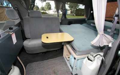 Spaceship Alpha 2 Berth Camper Australien