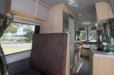 Britz Venturer Camper Australien