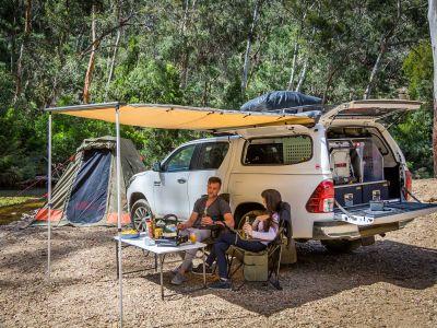 Britz Allrad/4WD Camper Outback in Australien