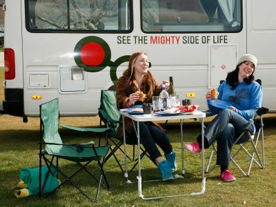 Camper Deuce Plus von Mighty Neuseeland Snack Imbiss