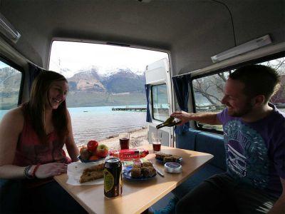 Camper Deuce Mighty Neuseeland Essen