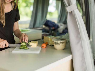Camper Deuce Mighty Neuseeland Kochen