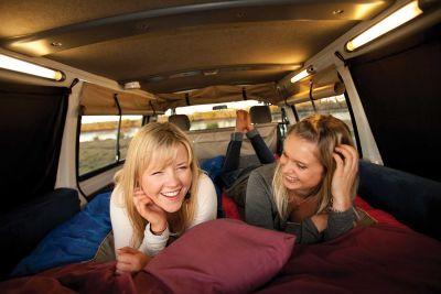 Spaß im Camper Drift von Hippie Camper Australien