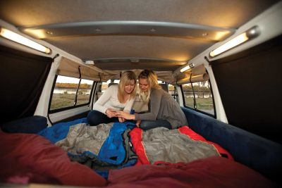 Entspannen im Camper Drift von Hippie Neuseeland