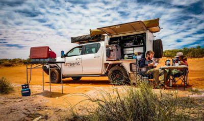 Red Sands Allrad Camper Australien bis 5 Personen