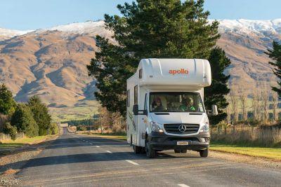 Unterwegs mit dem Euro Camper von Apollo Neuseeland