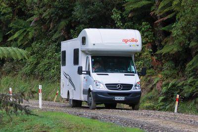 Durch die Natur mit dem Camper Euro Star von Apollo Neuseeland
