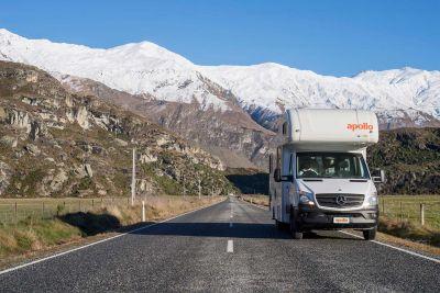 Unterwegs mit dem Camper Euro Star von Apollo Neuseeland