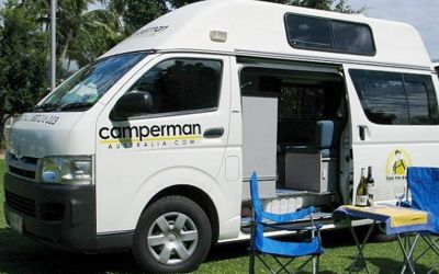 Camperman Juliette Australien