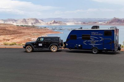 Best Time RV Jeep Trailer Class J USA
