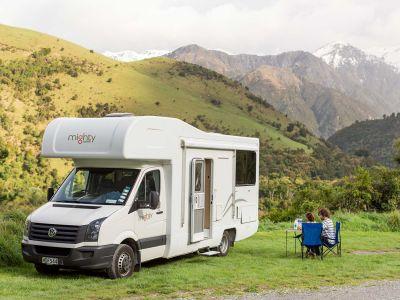 Camper Double Up von Mighty Neuseeland Picknick
