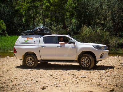 Britz Allrad/4WD Camper Outback Australien