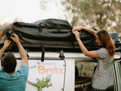Dachzelt Britz Safari 4WD Rooftop Camper Australien