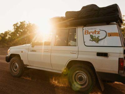 Britz Safari 4WD Rooftop Camper Australien