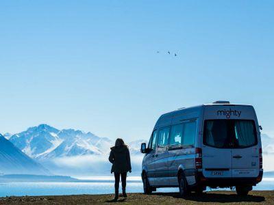Camper Deuce Plus von Mighty Neuseeland Lake Pukaki