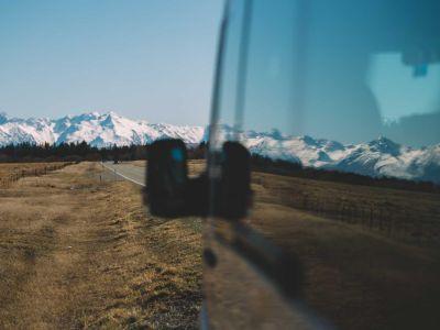 Camper Deuce Plus von Mighty Neuseeland Bergpanorama