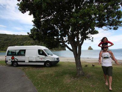 Camper Deuce Plus von Mighty Neuseeland Spass