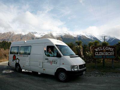 Camper Deuce Mighty Neuseeland Glenorchy