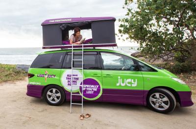 Jucy Champ Camper Australien
