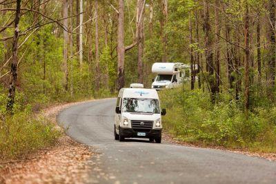 Unterwegs mit dem 2 Bett Camper ST von Cheapa Campa Australien