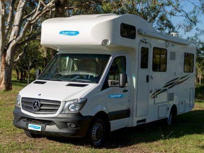 4-Bett Motorhome von Cheapa Campa Australien