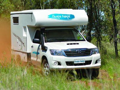 4WD Adventure Camper von Cheapa Campa Australien