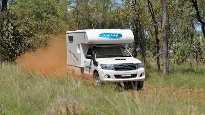 Unterwegs mit dem 4WD Adventure Camper von Cheapa Campa Australien