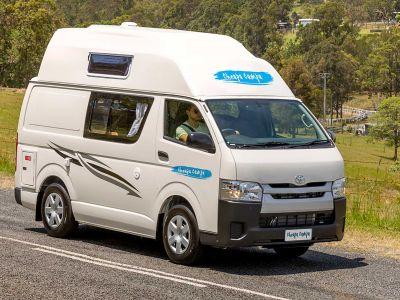 Camper Endeavour von Cheapa Campa Australien