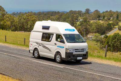 Unterwegs mit dem Camper Endeavour von Cheapa Campa Australien